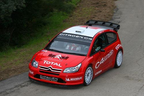 Citroen C4 Wrc. El Citroen C4 WRC rueda de